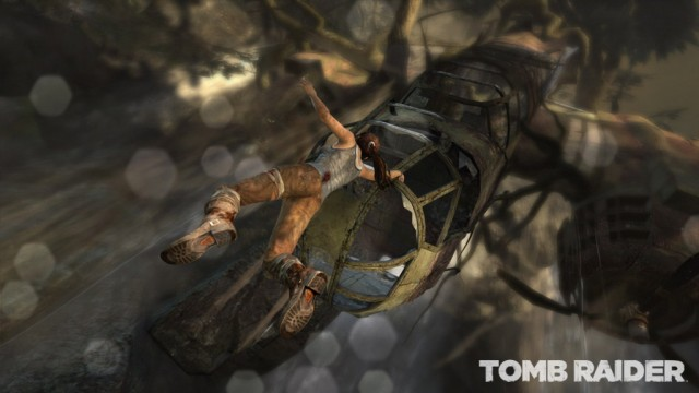 Tomb Raider - Helicopter