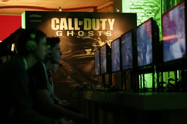 Call of Duty Ghosts at Xbox Showcase in Cologne, gamescom 2013