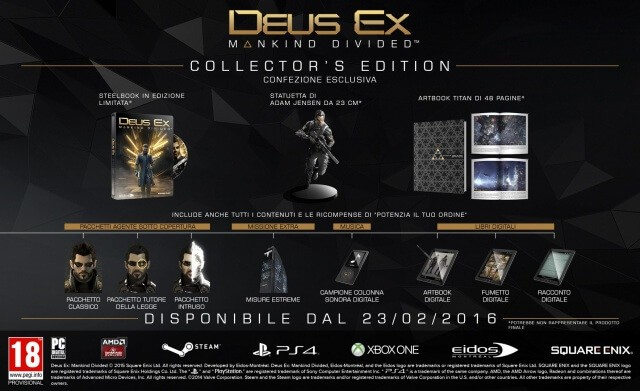 Deus Ex: Mankind Divided - rivelata la data di uscita