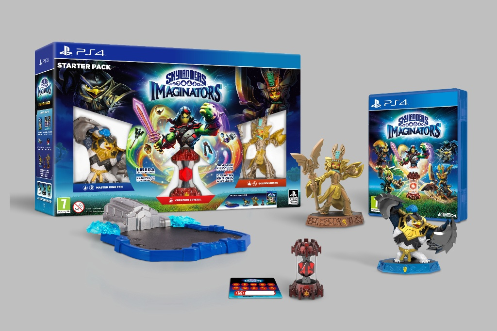 Skylanders Imaginators è ora disponibile!