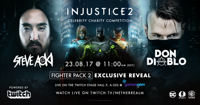 Injustice 2™: Celebrity Charity Competition