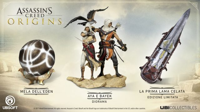 Le nuove statuette di Assassin's Creed Origins sono disponibili al preordine
