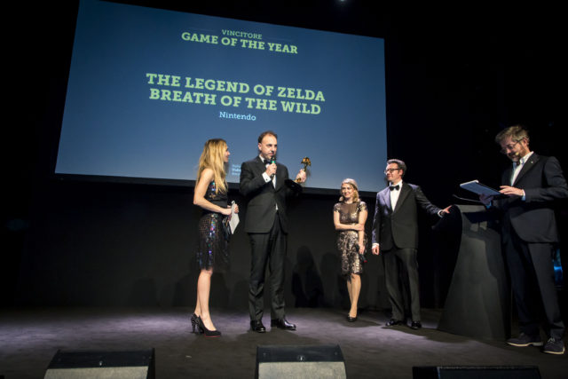 "Italian Video Game Awards: The Legend of Zelda: Breath of the Wild è ""Game of the Year"". A Horizon: Zero Dawn il ""People's Choice"" award 1"